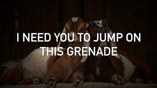 G.O.A.T, Jack & Conor Maynard - Grenade (with lyrics)