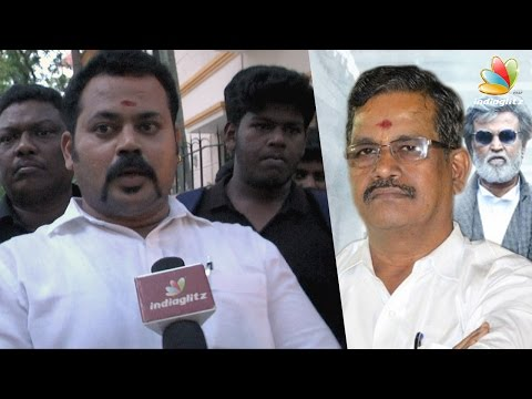 Bouncers Threaten Kalaipuli S Thanu for Kabali Issue | Controversial Speech