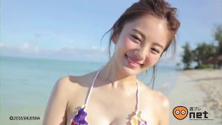 伊東紗冶子 Ito Sayako ( 水着 ) - Hot girl Japan take photo in beach [HD]