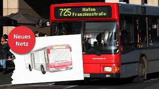Ab Februar 2016: Die neuen Bus-Linien der Rheinbahn in Düsseldorf