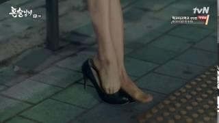 Actress Park Ha-sun - feet - Drinking Solo Ep 2