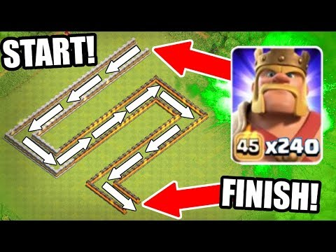 THE BARBARIAN TRAIN vs CERTAIN DEATH Clash Of Clans EPIC MASS TROOP CHALLENGE