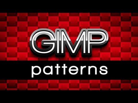 GIMP Patterns Tutorial Offset tiles