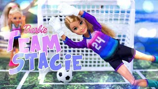 Unbox Daily:  ALL NEW Barbie Team Stacie Dolls & Play Sets | Soccer | Art Science & more