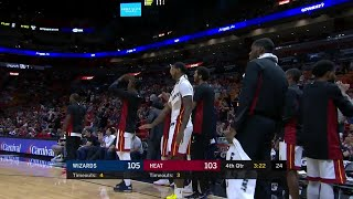 Quarter 4 One Box Video :Heat Vs. Wizards, 10/10/2017