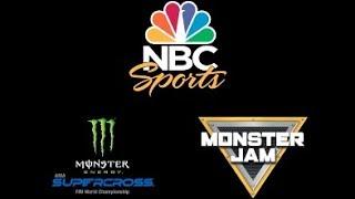 2019 Monster Energy Supercross and Monster Jam NBC Sports