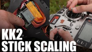 How to Flip a Quadcopter - KK2 Stick Scaling | Flite Test
