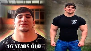 16 Years Old Monster NECK - Chechen Genetics | Workout Motivation 2018