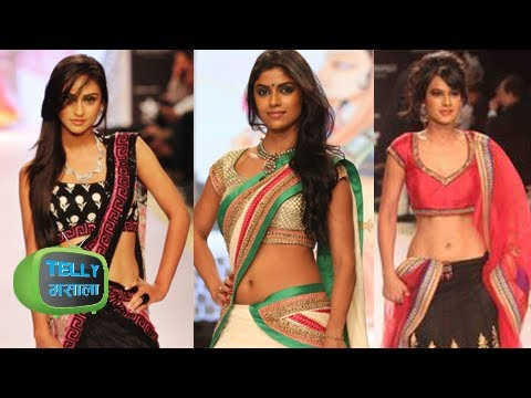 Hot TV Actresses Walk The Ramp - Krystal D'Souza, Nia Sharma - MUST WATCH - IIJW