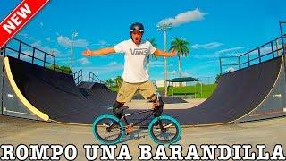 VISITO SKATEPARKS EN USA Y ROMPO UNA BARANDILLA!! - Miami vlog #2