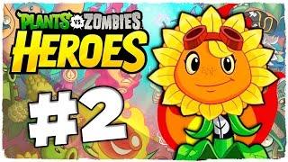 ???? PLANTS VS ZOMBIES HEROES | PARTE 2 ESPAÑOL - DESTELLO SOLAR | JUEGOS ANDROID E iOS GRATIS