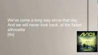 Avicii - Silhouettes (Lyrics Video)