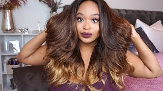 VIP Beauty Hair | Aliexpress | Brazilian Body Wave OMBRE (3 tone hair) | Install and Style