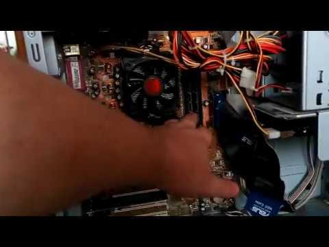 Почему не идет сигнал на монитор когда включаешь системный блок