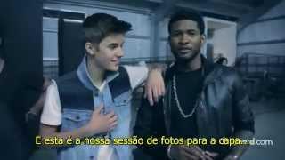 Justin Bieber and Usher - 2012 Billboard Cover Shoot [LEGENDADO]