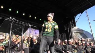 Edmonton Eskimos Fan Rally