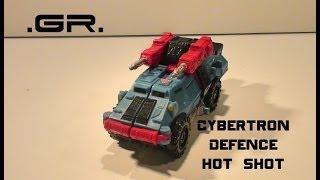 .GR. 55 Transformers Cybertron Defense Hot Shot.