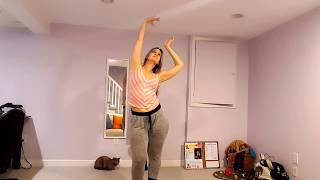 Short Dance Warm Up for Bellydance