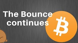 Bitcoin Analysis - legs in the bounce! 10k maybe?