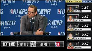 Nick Nurse postgame reaction | Raptors vs Magic Game 4 | 2019 NBA Playoffs