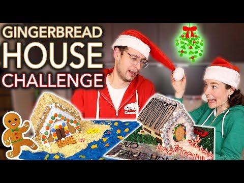 Gingerbread HOUSE TOUR BF vs GF