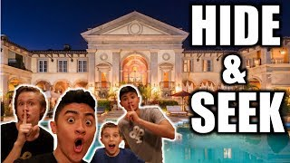 HIDE AND SEEK IN MASSIVE MANSION!!
