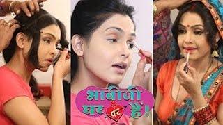 Bhabhiji Ghar par Hai| Shubhangi Atre Into Angoori Bhabhi's MAKEOVER