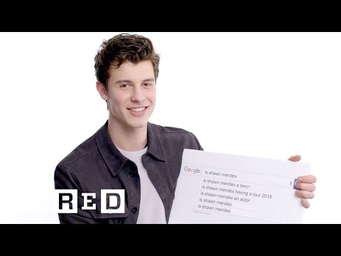 Shawn Mendes Answers the Web s Most Searched Questions WIRED