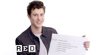 Shawn Mendes Answers the Web's Most Searched Questions | WIRED