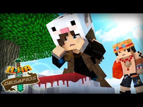 Minecraft: ILHA DOS DESAFIOS #05 - O ROBSON MORREU?