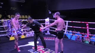 Luca (Sinbi Muay Thai) from Italy fights at Galaxy Boxing Stadium