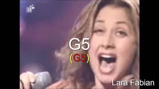 High Notes - G5 Battle - Female Singers