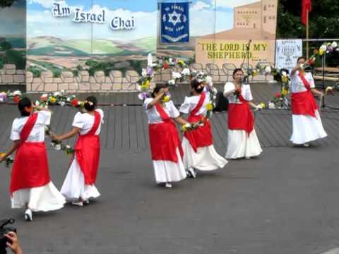 Bulaklakan Dance FJCC 2010 Israel Rejoicing