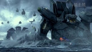 Pacific Rim (2013) - Final Battle - Pure Action - Part 1[1080p]