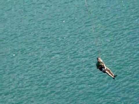 Lucas em Pêndulo na Lagoa Azul Jaboatão dos Guararapes PE