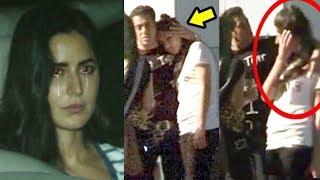 Katrina Kaif CRIES & HUGS Salman Khan After Meeting Him - INSIDE Video Of Galaxy Apartment