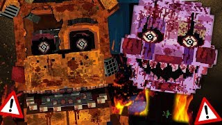 NEW TORMENTED ANIMATRONICS ARE HERE! | Minecraft FNAF (Five Nights at Freddys)