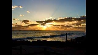 Time Lapse of Burns Beach Sunset -- Perth, Western Australia