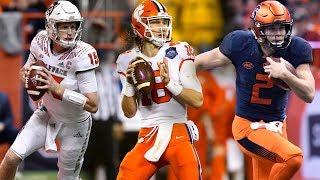 Top 5 Quarterbacks in the ACC   2018 Season