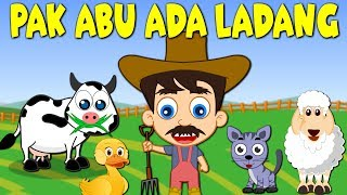Lagu Kanak Kanak Melayu Malaysia   PAK ABU ADA LADANG - OLD MACDONALD HAD A FARM in MALAY