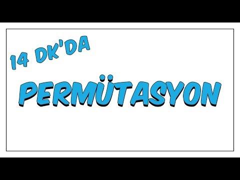 14dk da PERMUTASYON - GENEL ÇARPMA KURALI
