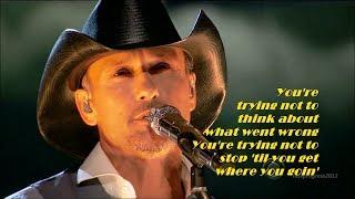 Tim McGraw - Highway Don't Care [ ft. Taylor Swift & Keith Urban ]( live 2013 )[ lyrics ]