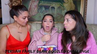 PERSIAN FAMILY BEAN BOOZLED CHALLENGE ( چالش لوبیا طعم بد)  | persianbunny