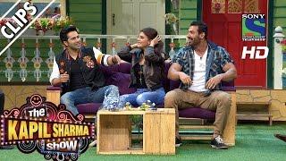 John appreciates Varun's massage techniques -The Kapil Sharma Show -Episode 27- 23rd July 2016