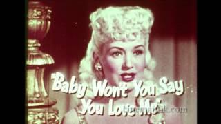 « Wabash avenue » trailer (1950)