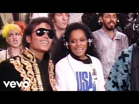 U.S.A. For Africa We Are the World Official Video
