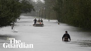 Catastrophic flooding brought to Carolinas by Storm Florence