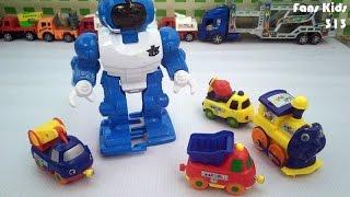 Mainan Terbaru Robot - Robotan dan Play Train I Vidio for Kids
