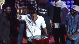 Kofi Kinaata wins Best New Artiste @ VGMA 2016