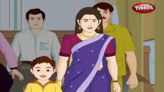 Bus Travel | Day to Day Conversations in Hindi | Daily Activities For Kids | Activities Lessons